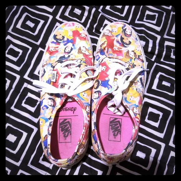 691734405f Vans Shoes - VANS DISNEY PRINCESS RARE LIMITED EDITION PRINT